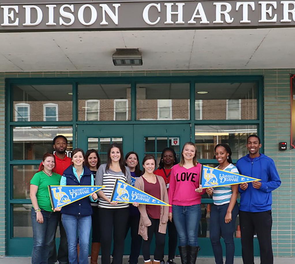 teachers at Edison Charter