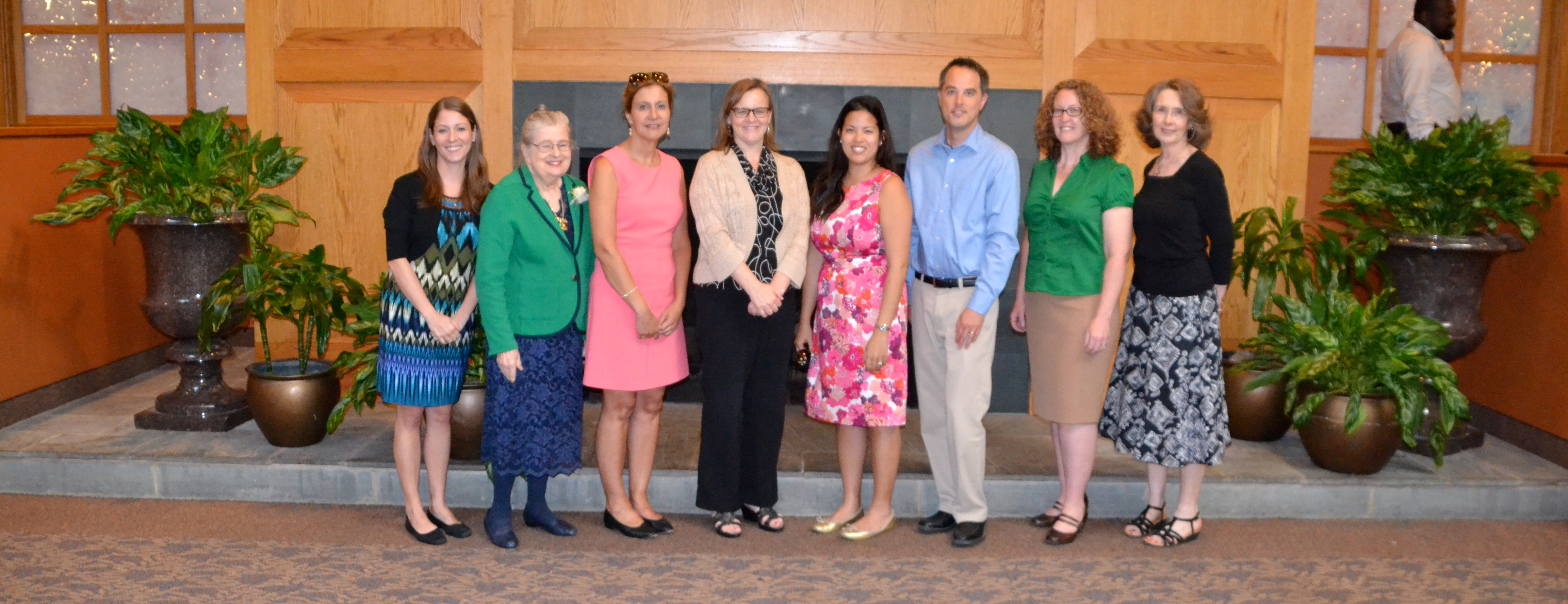 University of Delaware College of Education and Human Development faculty and staff group picture.