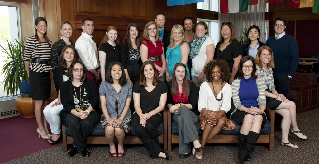 Award winning College of Education and Human Development students.
