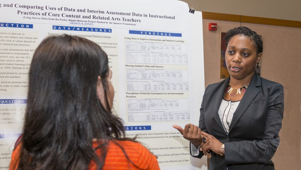 CEHD student displays research