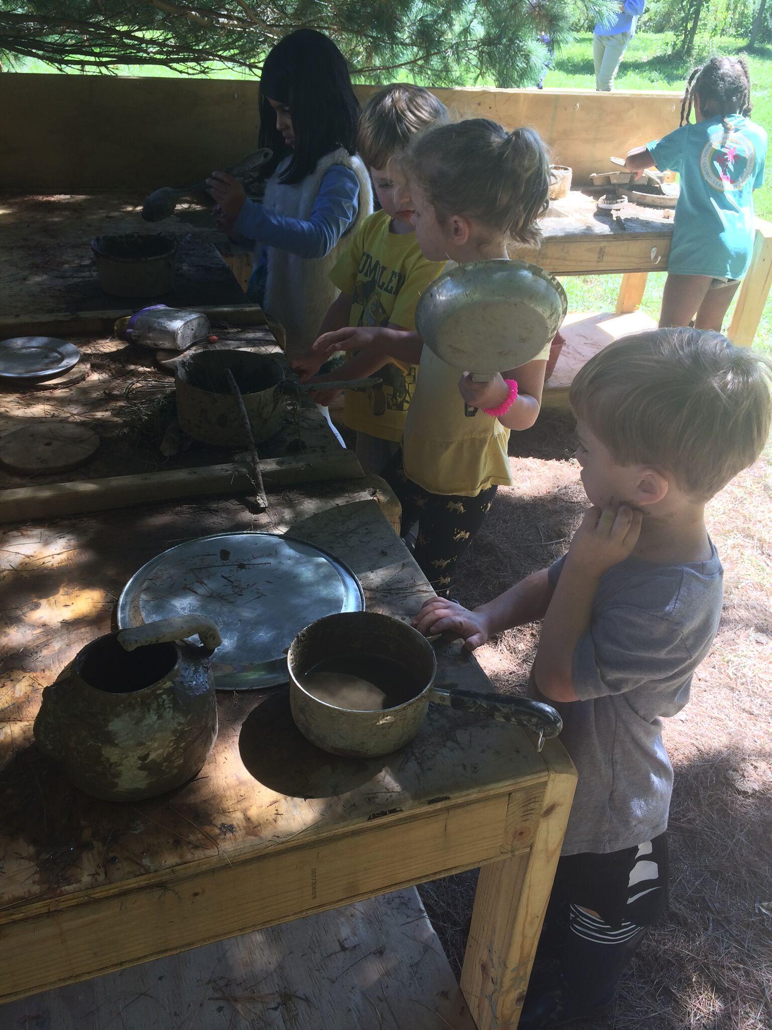 lab-school-mud kitchen