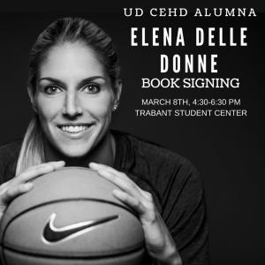Elena Delle Donne Book Signing