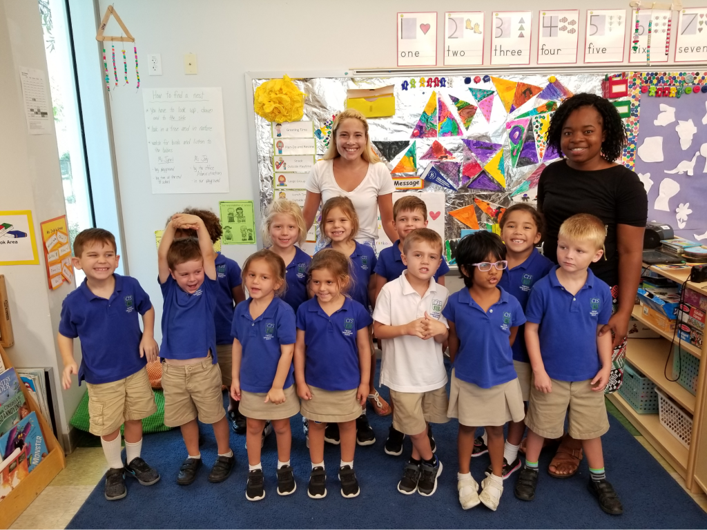 Cayman class and teachers