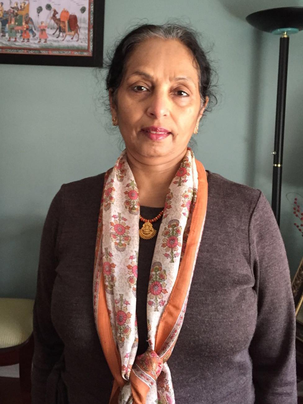 Ratna Nandakumar portrait
