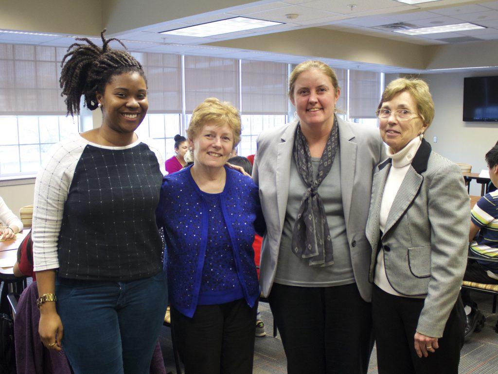 Alexis, Gail. Kristine and Barbara at ASPIRE