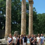 HDFS faculty at Greek ruins