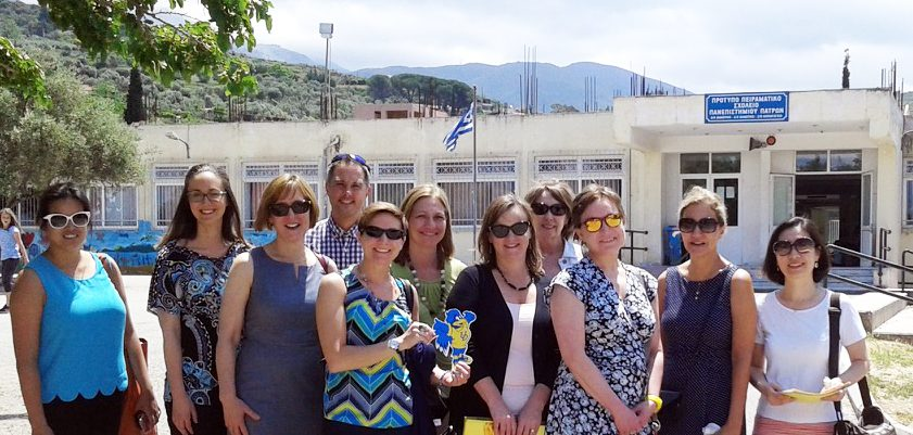 HDFS faculty and grad students in Greece