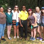 UD Study Abroad students tour Barbados