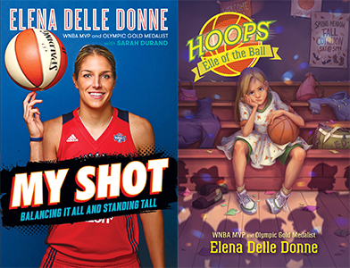 Elena Delle Donne My Shot Book Cover signing