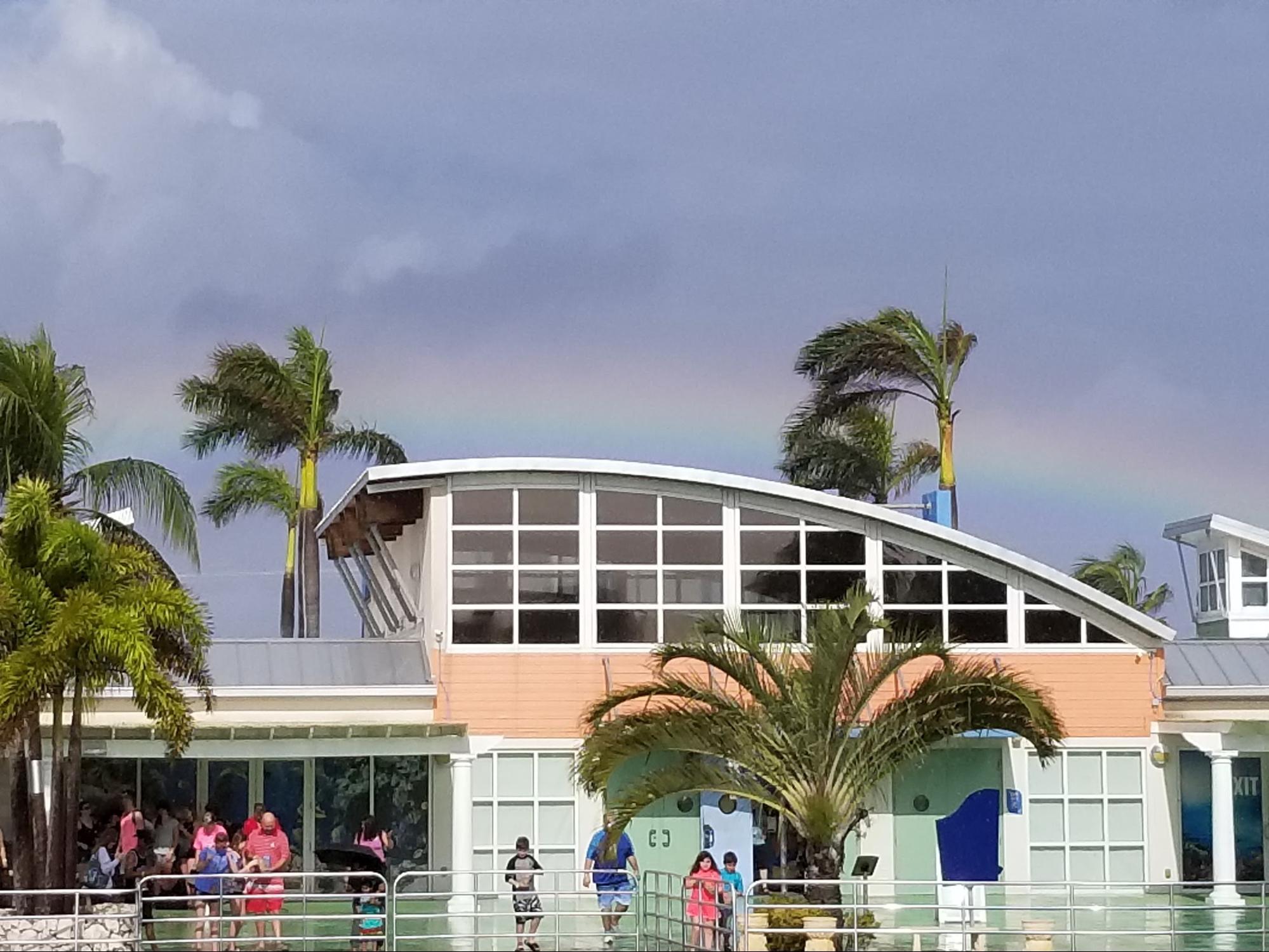 Rainbow at the Cayman Islands