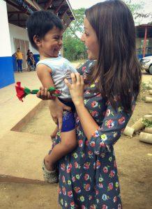 Shelby Dorr in Nicaragua