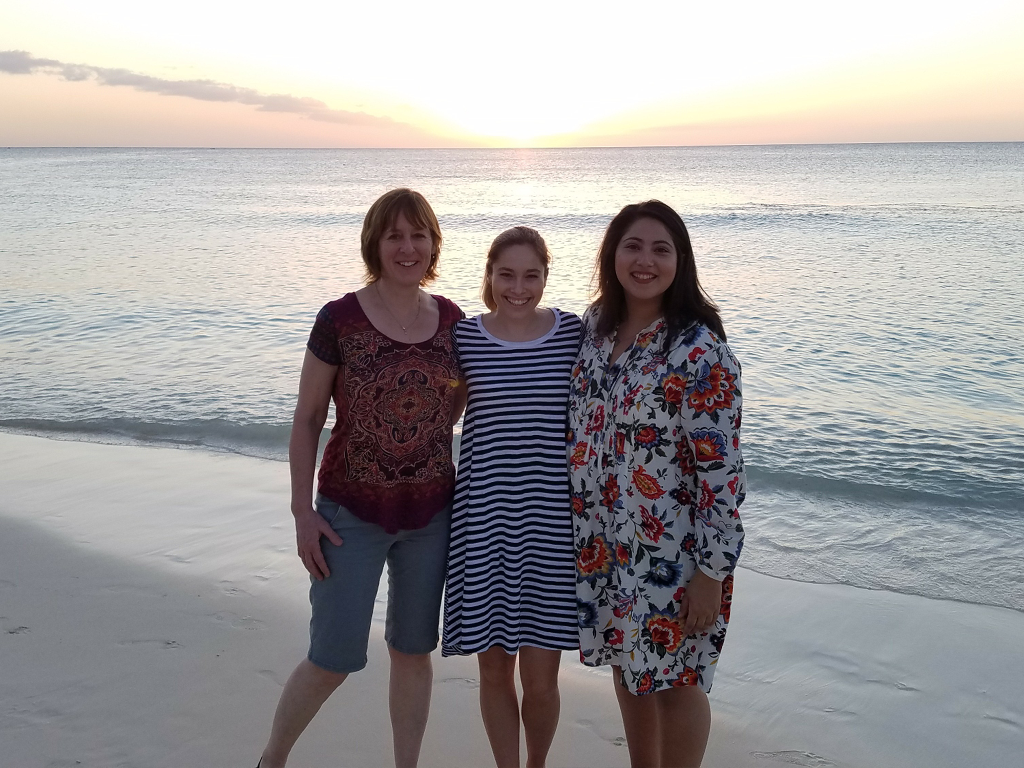 CEHD students in the Cayman Islands