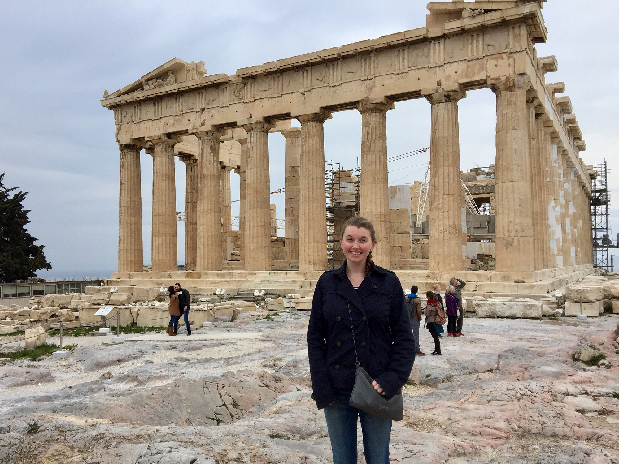 CEHD student in Greece