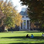 Memorial Hall during Fall