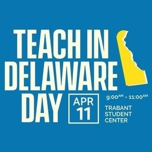 Teach in Delaware Day on April 11