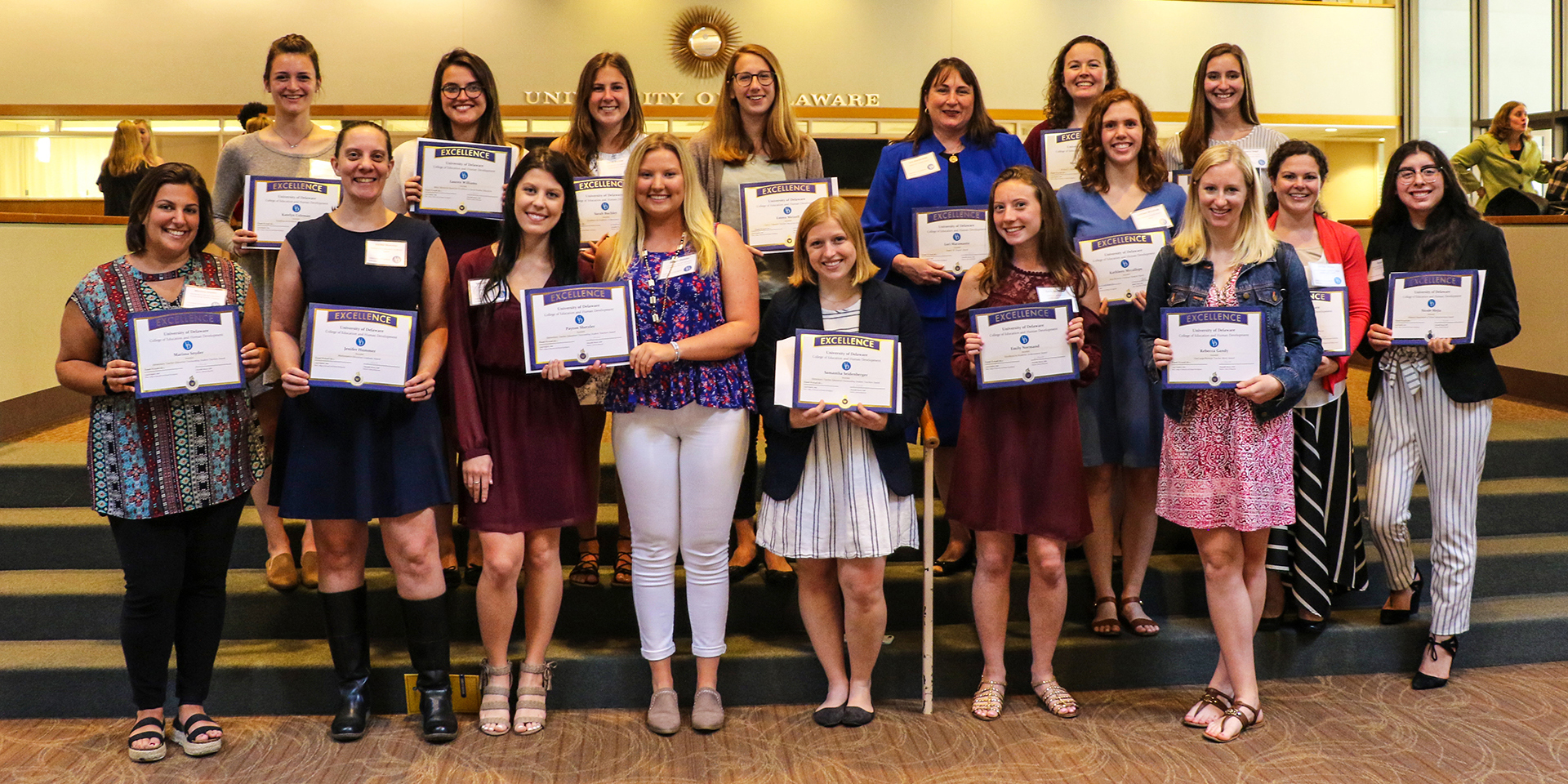 20189 Celebration of Excellence awardees