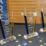 Three awards which were presented during Alumni Weekend