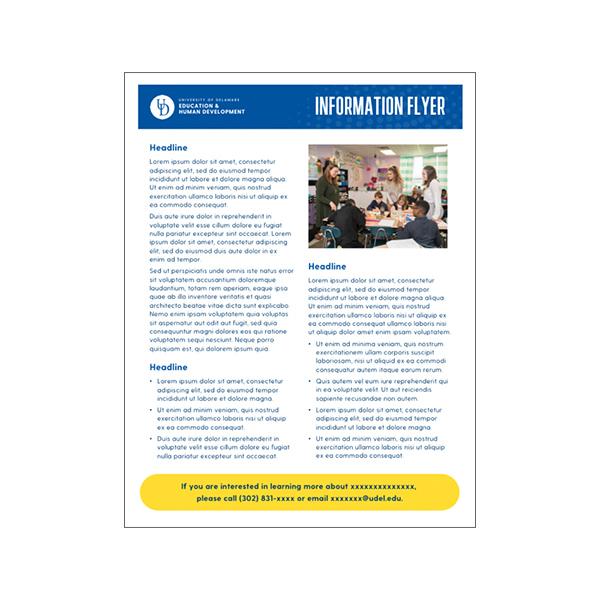 CEHD flyer template