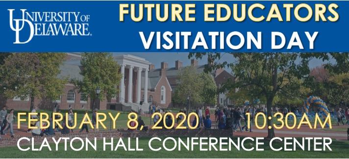 Future Educators Visitation Day on February 8, 2020