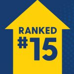 USNWR ranks UD 15th among national colleges and universities.