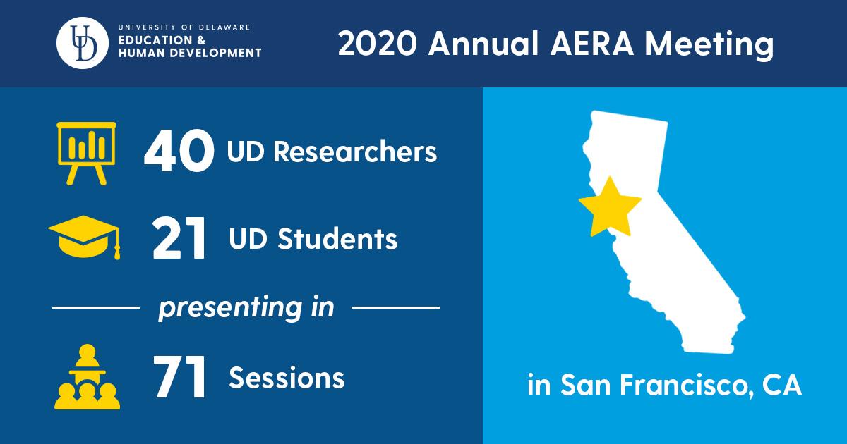 AERA 2020 reception invitation design