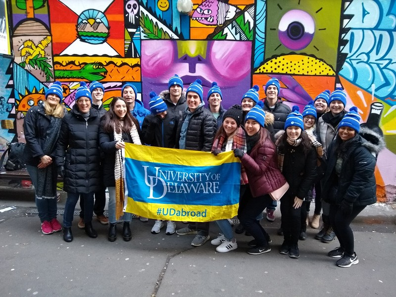 University of Delaware students from the College of Education and Human Development and Horn Entrepreneurship spent the 2020 Winter Session in Berlin and Munich, Germany
