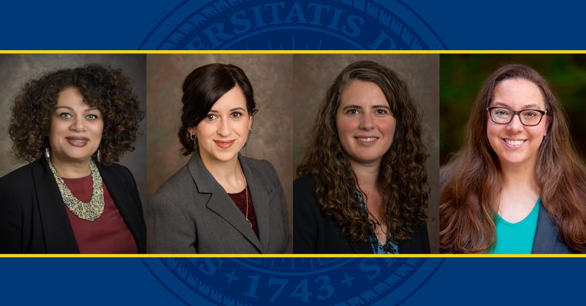 Ann Aviles, Christina Barbieri, Sarah Curtiss and Teomara Rutherford