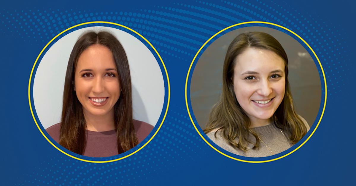 Gia Cammisa and Abigail Cooper