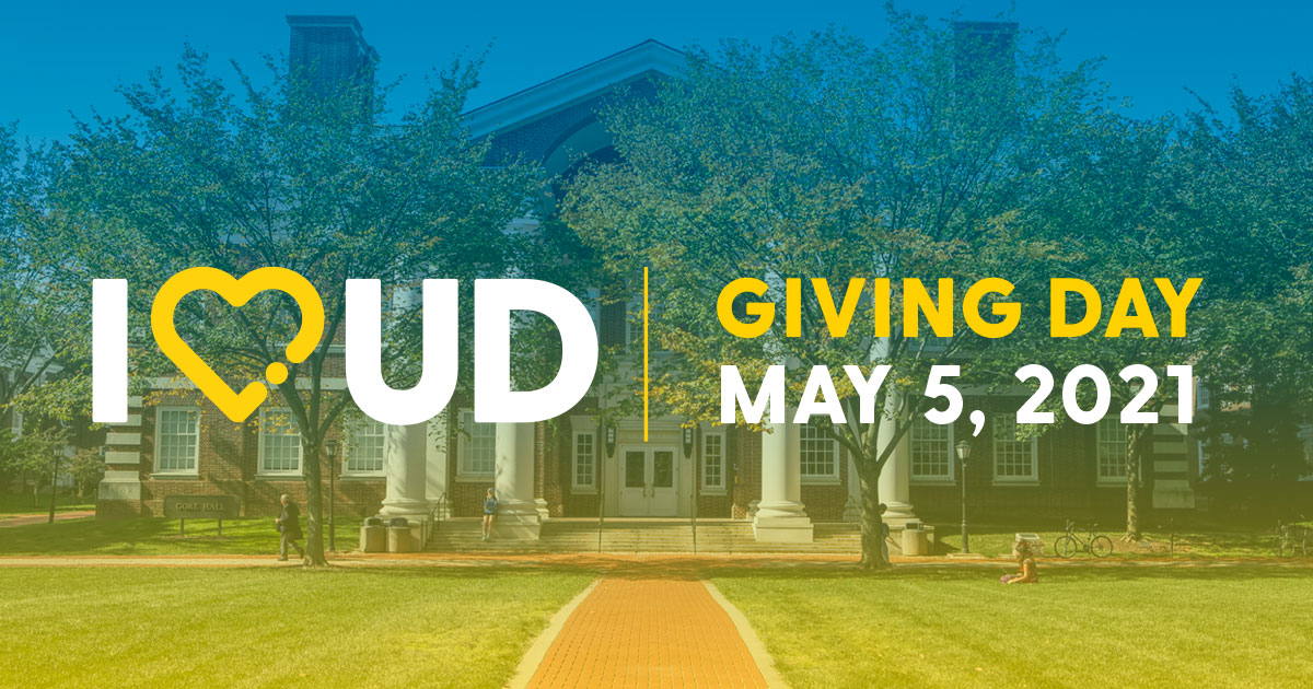I Heart UD Giving Day 2021